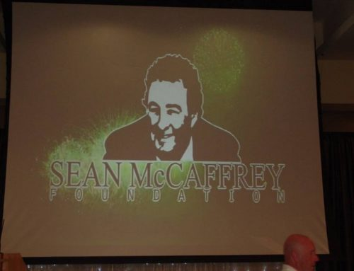 Huge turnout for Launch of the Sean McCaffrey Foundation